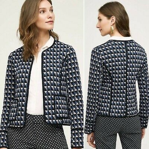 Anthropologie Jackets & Blazers - NWT-Hei Hei Vala Jacket Sz O